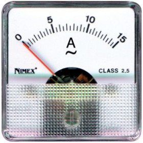 AMPEROMETRO 1,5A CA 51x51