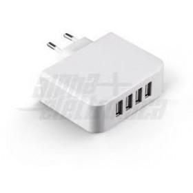 ALIMENTATORE 220VAC/USB 4,9A 4 USCITE