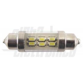 DIODO LED TUBO 10-30VDC 37mm 6000K