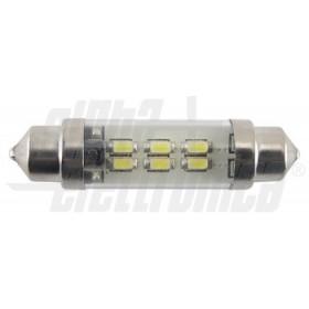 DIODO LED TUBO 10-30VDC 42mm 6000K