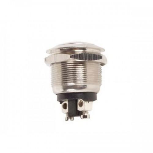 PULSANTE CROMATO IP67 D12mm